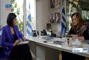 Ντ. Μπακογιάννη: Κανένας σοβαρός άνθρωπος δεν σκέφτεται σήμερα εκλογές (VIDEO)