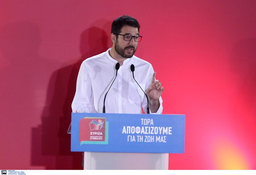 Ηλιόπουλος: Αν δεν ληφθούν τώρα μέτρα ουσιαστικής ενίσχυσης, τα λουκέτα σύντομα θα είναι οριστικά