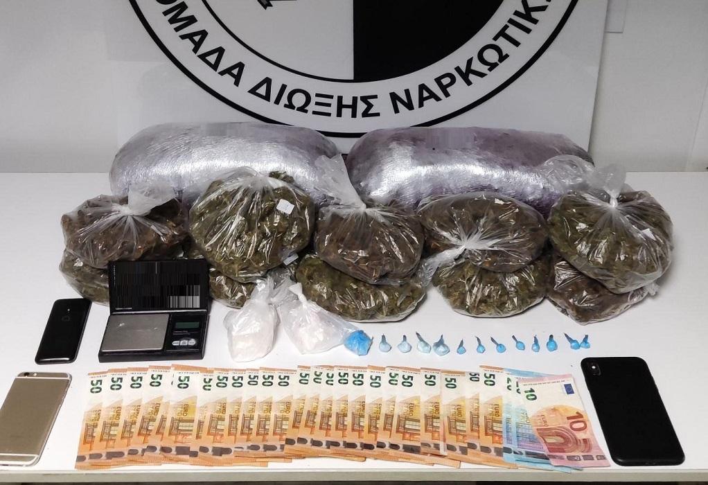 Θεσ/νίκη: Συνελήφθη για εμπόριο κάνναβης και κοκαΐνης