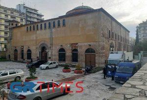 Θεοφάνεια: Μειωμένη η προσέλευση στον Ι.Ν. Αγίας Σοφίας στη Θεσσαλονίκη (ΦΩΤΟ-VIDEO)
