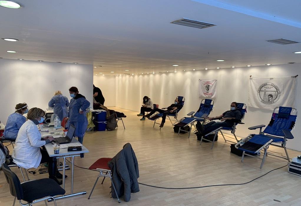 Εθελοντική αιμοδοσία διοργανώνεται από σωματεία εργαζομένων