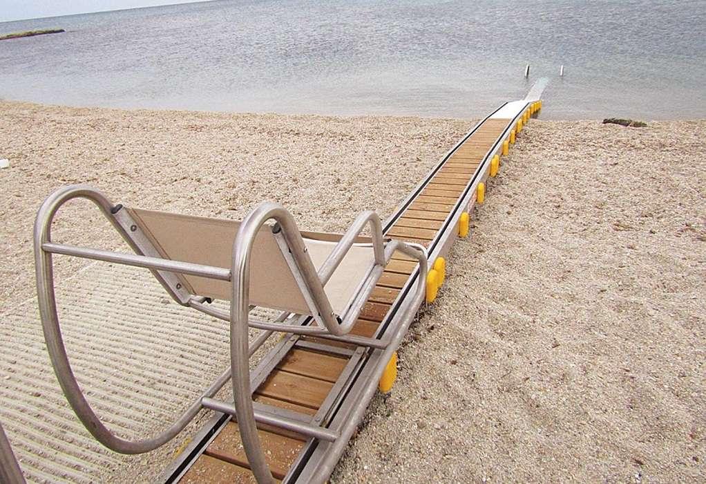 Ολοκληρωμένη πρόσβαση για ΑμεΑ σε παραλίες του Δήμου Αριστοτέλη