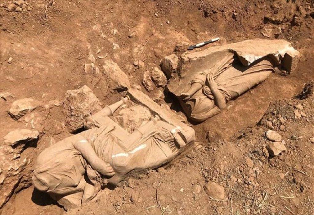 ΥΠΠΟΑ: Αποκάλυψη ναόσχημου μνημείου στην Παιανία (ΦΩΤΟ)