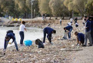 Eν μέσω πανδημίας καθάρισαν 83 χιλιόμετρα ακτογραμμής