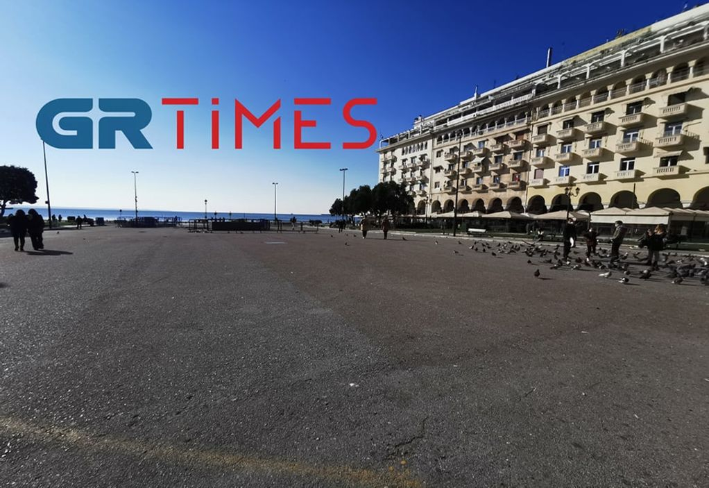 Απαγόρευση κυκλοφορίας από τις 18:00 στη Θεσσαλονίκη (VIDEO)