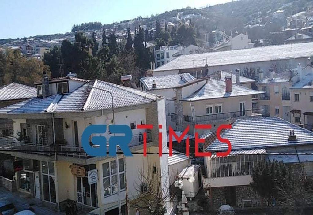 Κ. Μακεδονία: Σε ετοιμότητα η Πολιτική Προστασία – Πότε θα χιονίσει