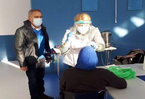 Δ. Θεσσαλονίκης: Rapid tests σε αστέγους