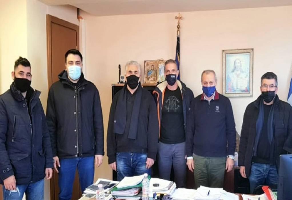 Συνάντηση Ταχματζίδη με το προεδρείο της Ένωσης Αστυνομικών Υπαλλήλων Θεσσαλονίκης