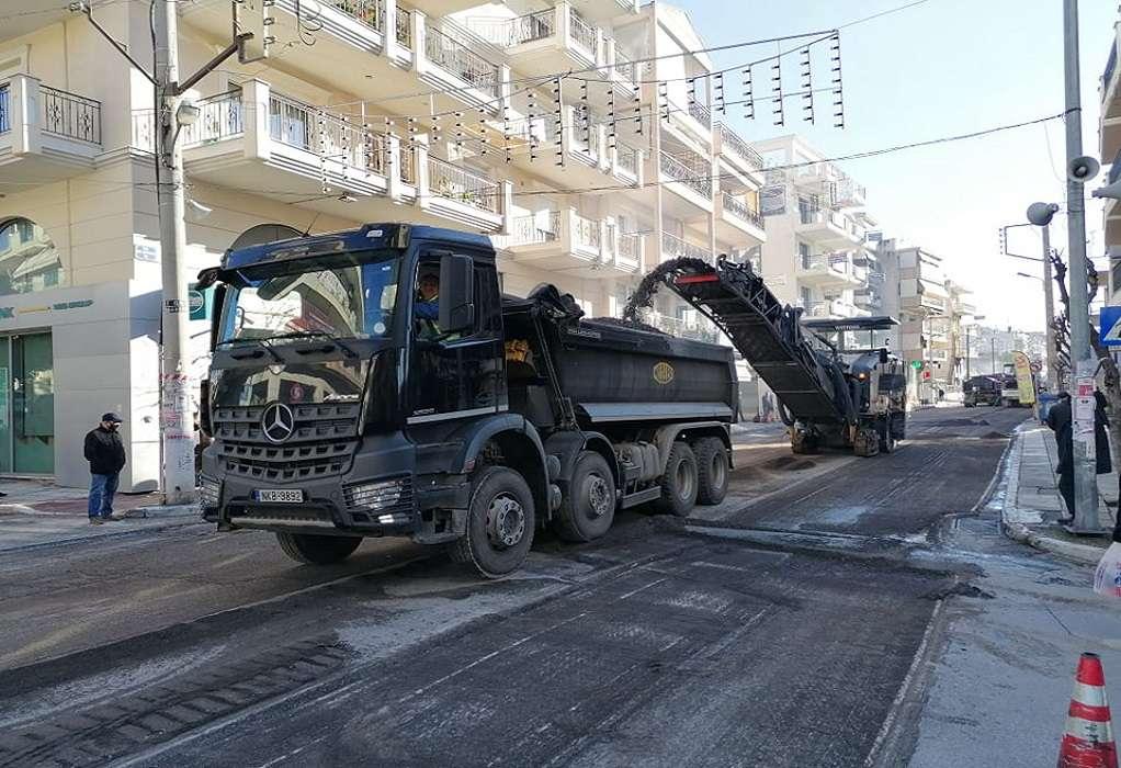 Δ. Κορδελιού-Ευόσμου: Αναβαθμίζεται με έργα ασφαλτόστρωσης η οδός Μ. Αλεξάνδρου