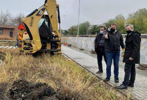 Αυτοψία Ζέρβα στα έργα αποκατάστασης στις λίμνες στον Κήπο του Νερού