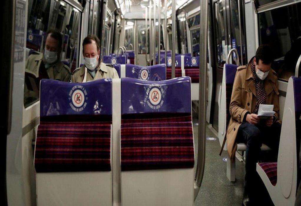 Γαλλία: «Οι πολίτες να μην μιλάνε μέσα στα μέσα μαζικής μεταφοράς»