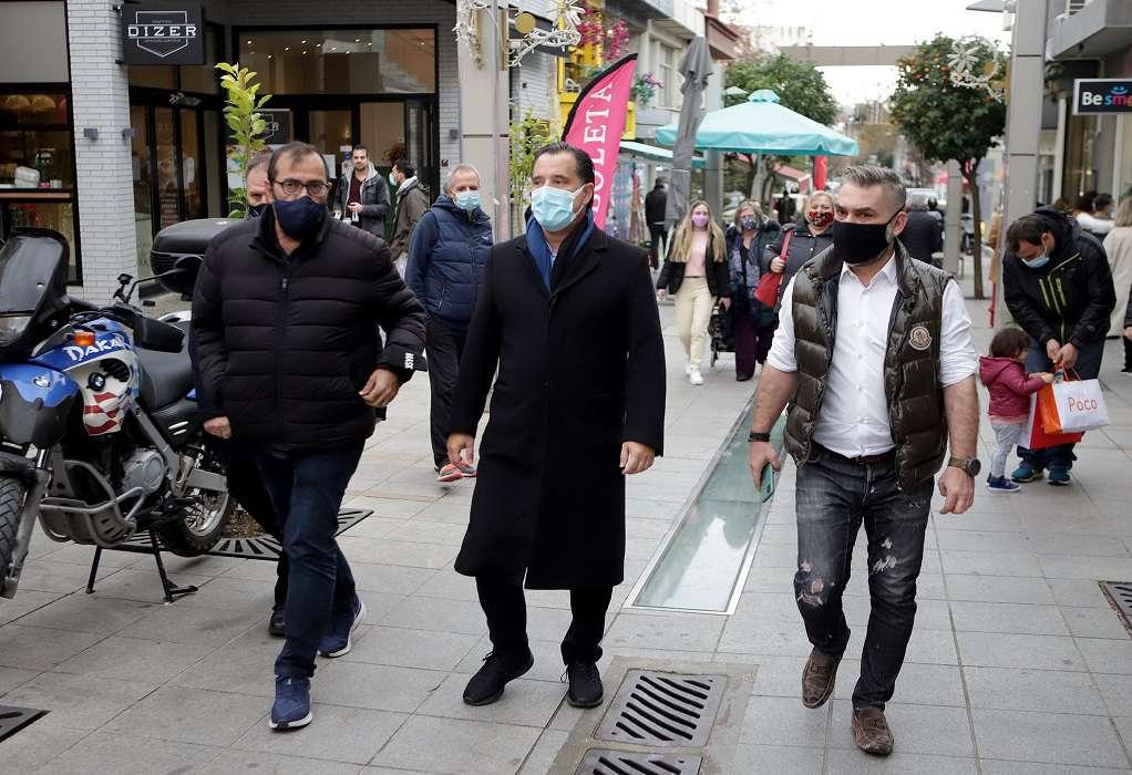 Αδ. Γεωργιάδης: Πρέπει να προσέξουμε, θα είναι κρίμα να πάμε πίσω