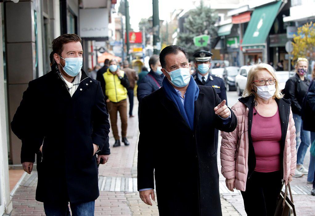 Αδ. Γεωργιάδης: Αν φοράμε όλοι τις μάσκες μας και προσέχουμε είμαι αισιόδοξος
