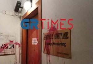 Δ. Θεσσαλονίκης: Καταδικάζει την επίθεση στο γραφείο του Σ. Δημητριάδη