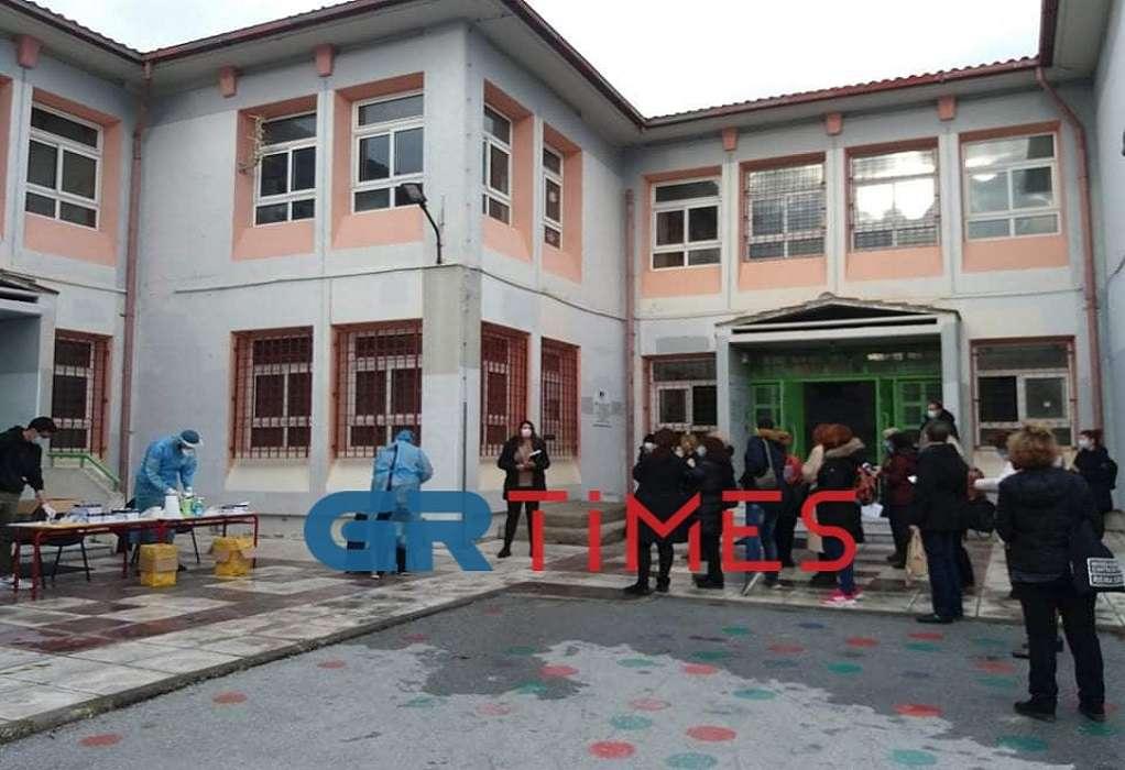 Τεστ Αντιγόνου στο δήμο Καλαμαριάς (ΦΩΤΟ-VIDEO)