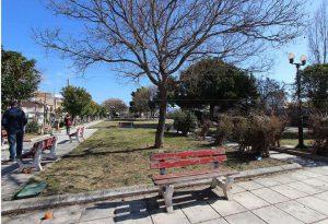 Δήμος Κορδελιού-Ευόσμου: Υλοποιείται η ανάπλαση των πάρκων Ελπίδος και Σμύρνης