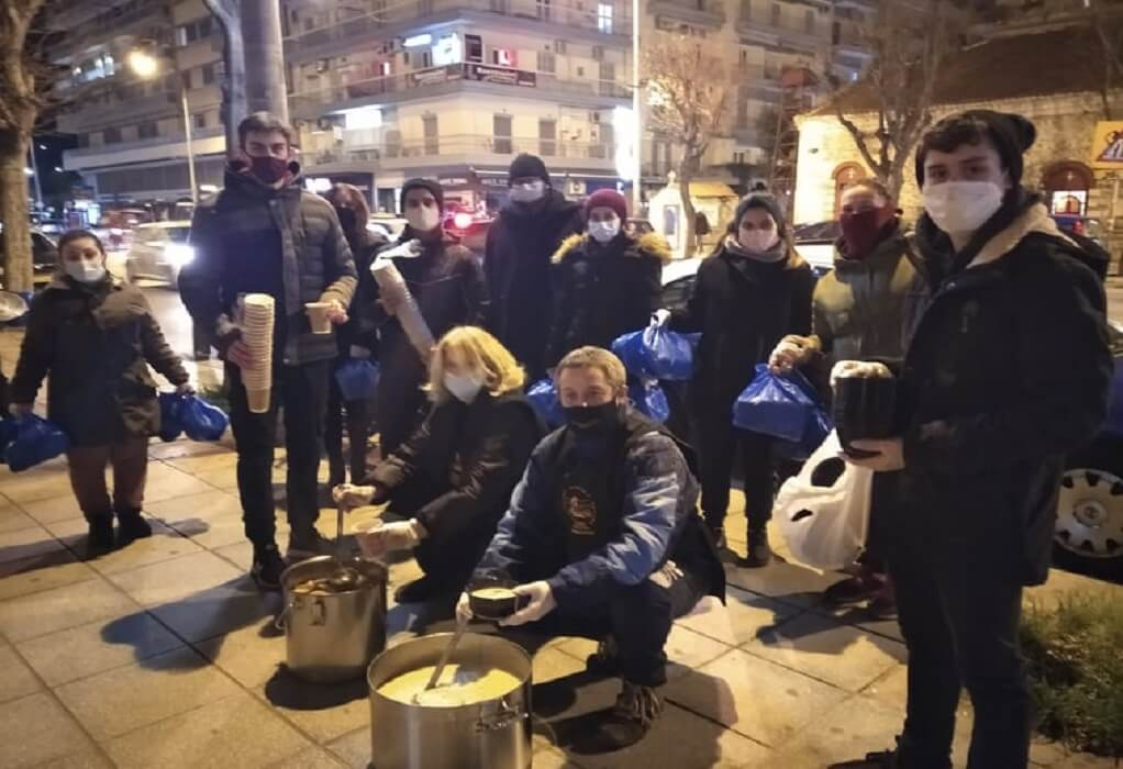 Θεσσαλονίκη: Αρωγός παντός καιρού η Εθελοντική Διακονία Αστέγων