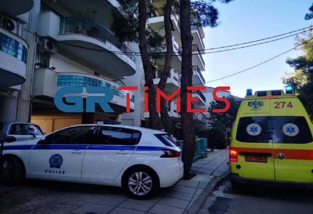 Θεσσαλονίκη: Πτώση γυναίκας από διαμέρισμα (ΦΩΤΟ)