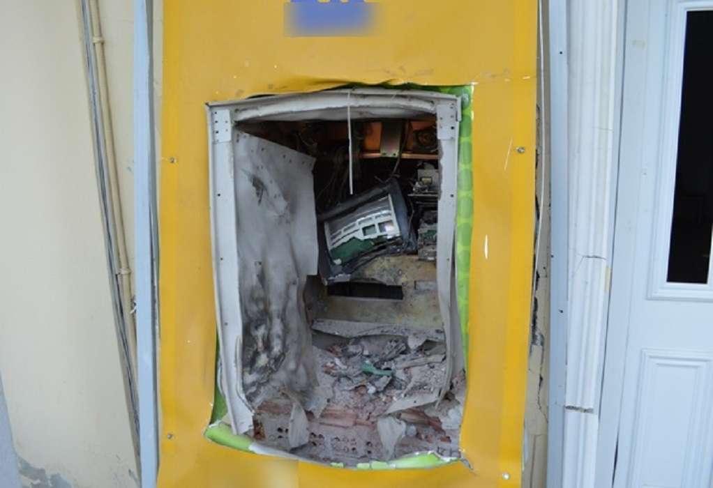 Ανατίναξαν ΑΤΜ στην Πιερία – Προσπάθησαν να αφαιρέσουν πάνω από 160.000 ευρώ