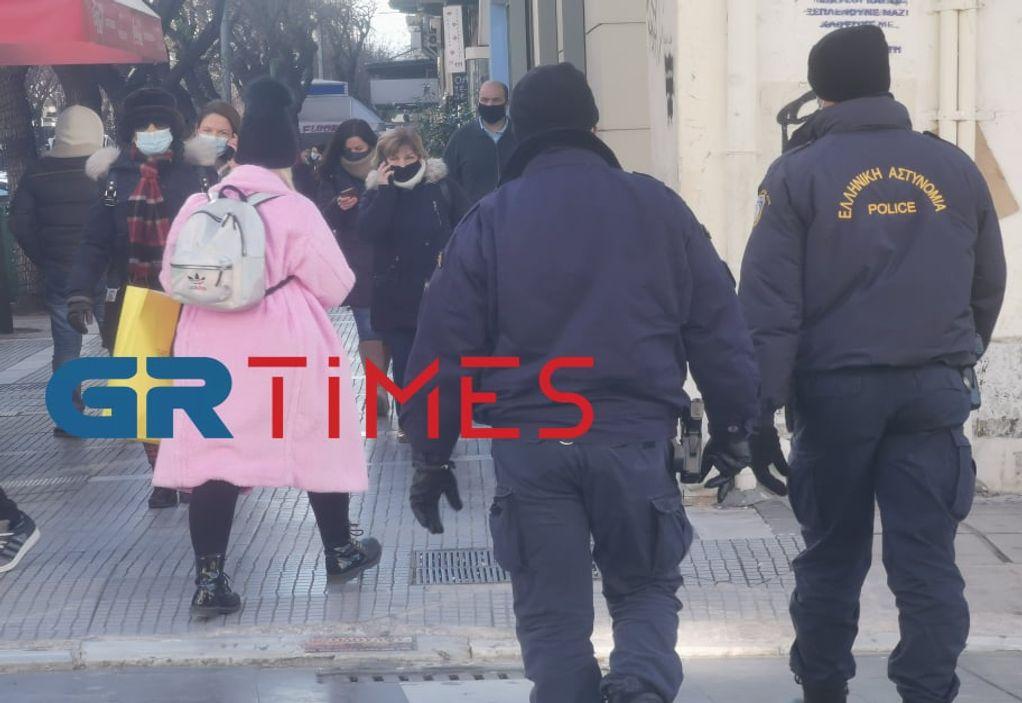 Άνοιγμα καταστημάτων: Εντατικοί έλεγχοι της ΕΛ.ΑΣ. στη Θεσσαλονίκη (ΦΩΤΟ+VIDEO)