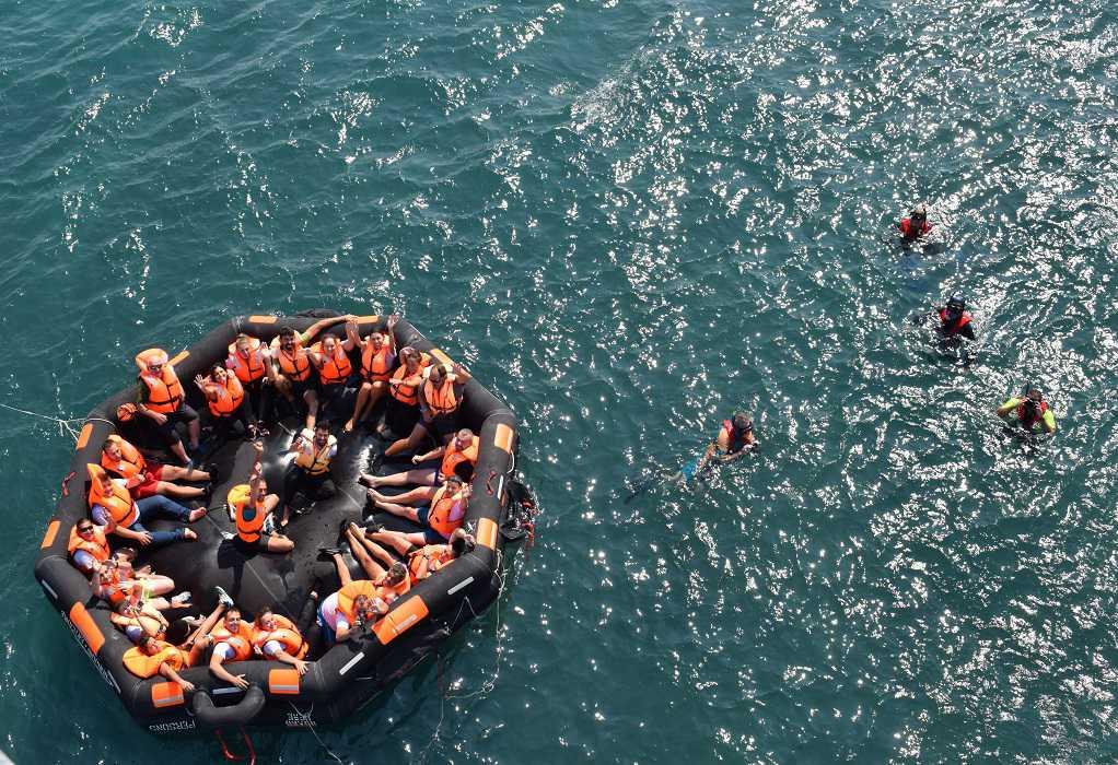 DNV GL και Ελληνική Ομάδα Διάσωσης ενώνουν τις δυνάμεις τους στη θαλάσσια διάσωση