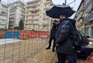Θεσσαλονίκη: Αυτοψία Ζέρβα σε έργα που βρίσκονται σε εξέλιξη (ΦΩΤΟ-VIDEO)