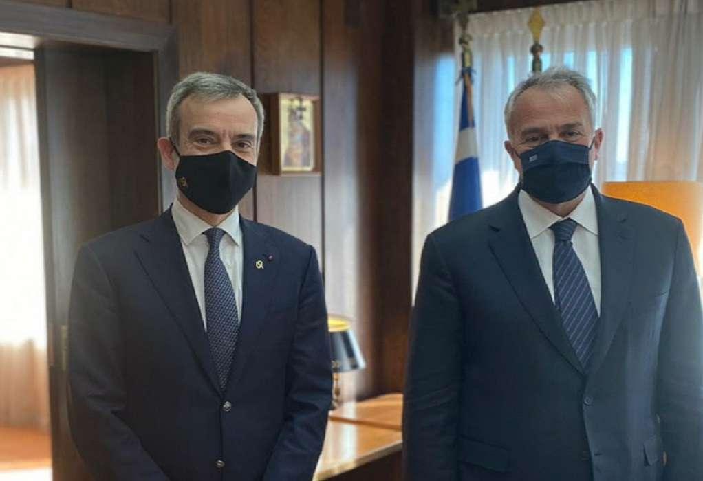 Διαδοχικές συναντήσεις Κ. Ζέρβα με Κ. Σκρέκα και Μ. Βορίδη στην Αθήνα
