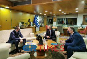 Πέτσας: Θα στηρίξουμε το σχέδιο Μάρσαλ του Δ. Θεσσαλονίκης (ΦΩΤΟ+VIDEO)