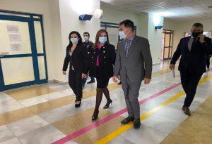 Επίσκεψη Ζωής Ράπτη στο Πανεπιστημιακό Γενικό Νοσοκομείο Αττικόν