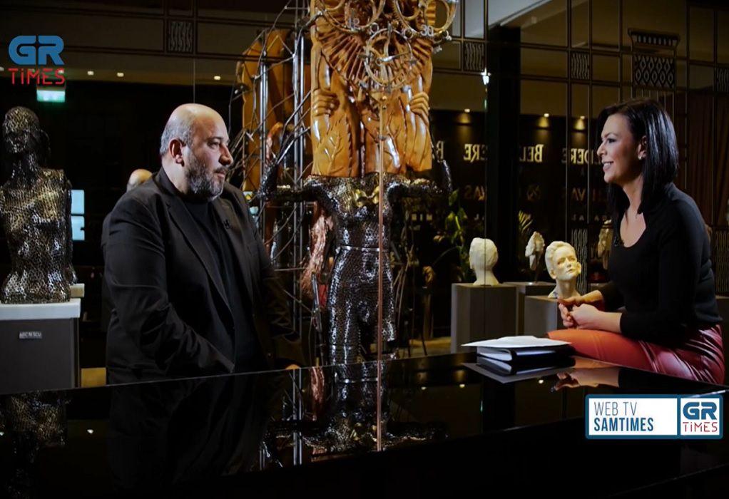 Ν. Ζωιδάκης: «Τροφή» για τον καλλιτέχνη είναι η επικοινωνία με τον κόσμο (VIDEO)