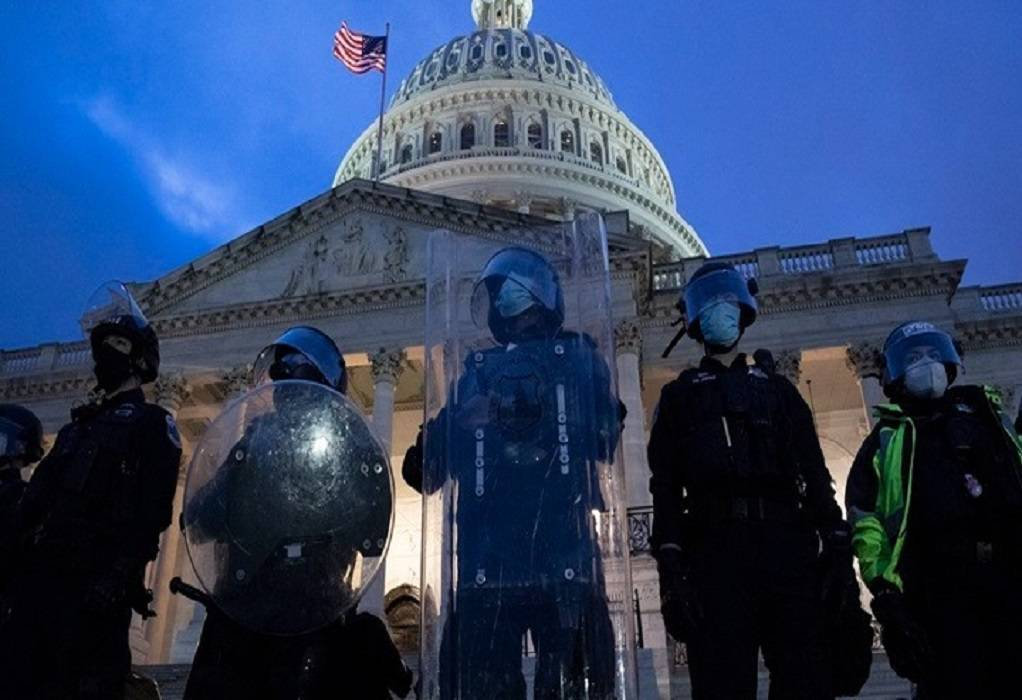 Σε κατάσταση έκτακτης ανάγκης η Ουάσινγκτον – Σχέδιο για 3 επιθέσεις στο Καπιτώλιο