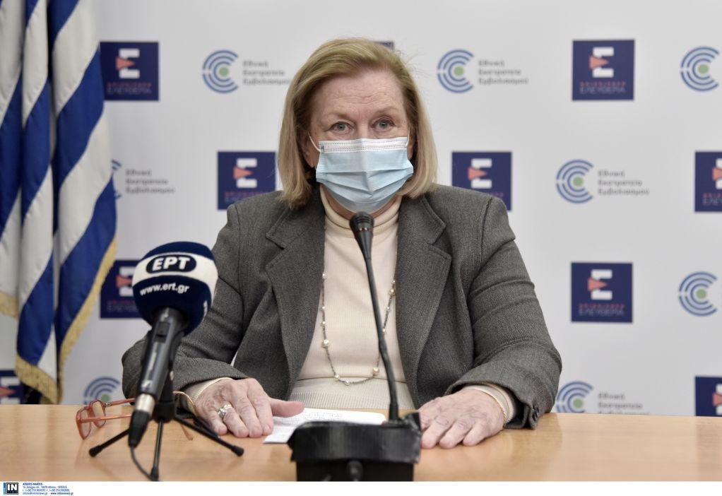 Θεοδωρίδου: Σε 340.000 εμβολιασμούς με AstraZeneca ένα περιστατικό θρόμβωσης στην Ελλάδα