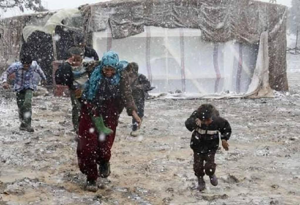 Διοικητής ΚΥΤ Καρά Τεπέ: Fake news οι εικόνες με τις πλημμύρες