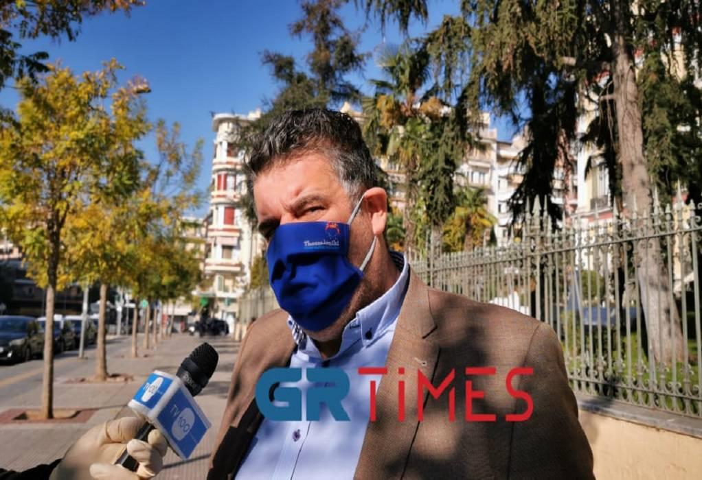 Λεοντιάδης: «Βουτιά» τζίρου 85% για τα ταξί της Θεσσαλονίκης (ΗΧΗΤΙΚΟ)