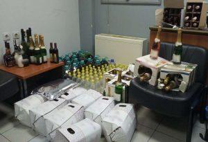 Σέρρες: Τους έπιασαν να μεταφέρουν λαθραία ποτά
