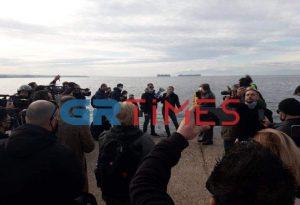 Θεσσαλονίκη: Συνελήφθη γυναίκα για τη ρίψη του Σταυρού