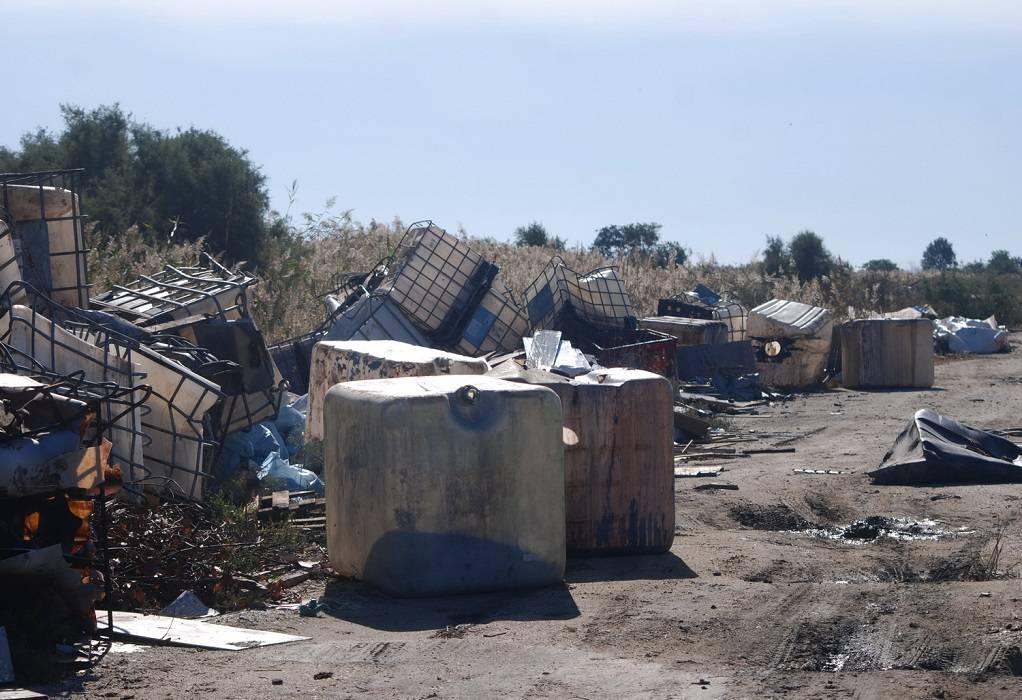«Πλημμύρισε» με σκουπίδια το Δέλτα Αξιού καταγγέλλει ο Φορέας Διαχείρισης