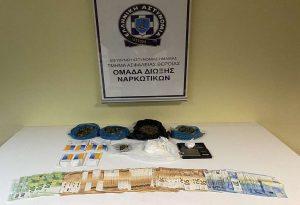 Συνελήφθη διακινητής ναρκωτικών – Είχε στο σπίτι του πάνω από 140 γρ. κοκαΐνης