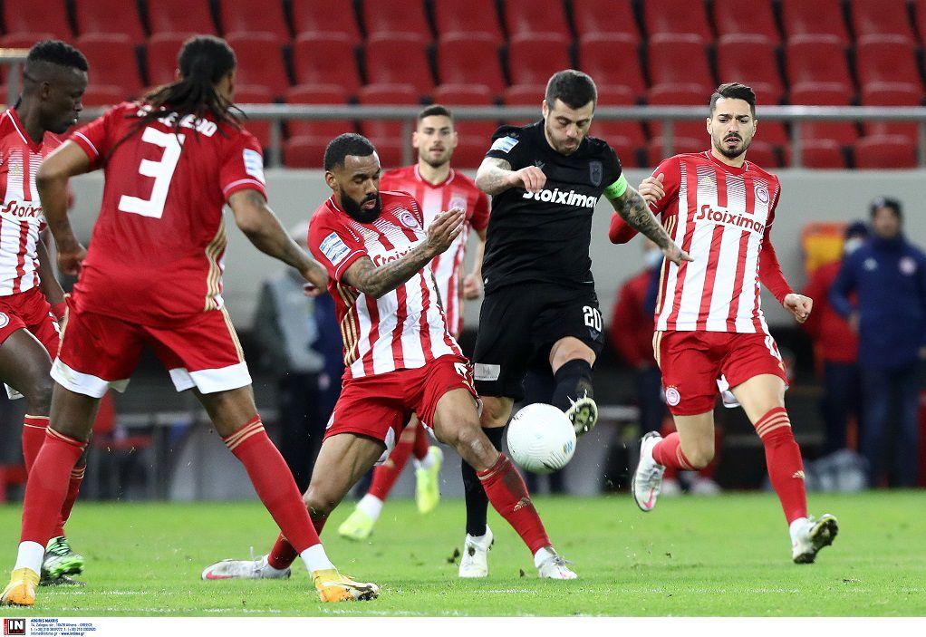 Super League 1: Δεν έχει αντίπαλο ο Ολυμπιακός – 3-0 τον ΠΑΟΚ