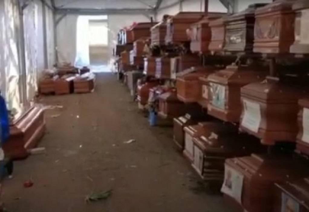 Ιταλία: 700 φέρετρα παραμένουν άταφα στο Παλέρμο