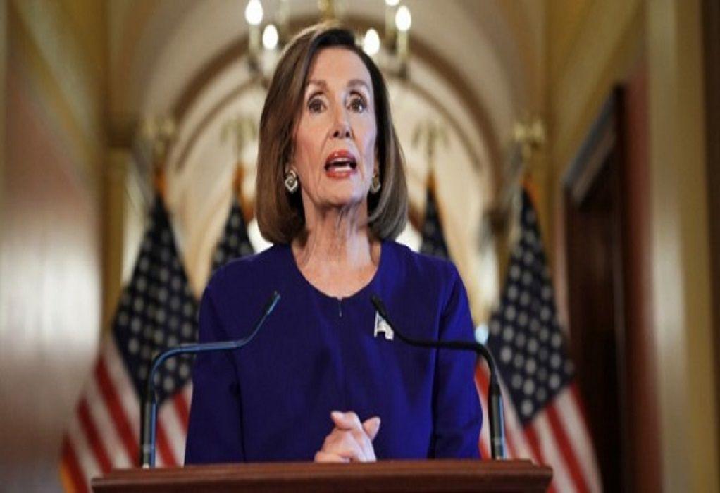 ΗΠΑ: Η Νάνσι Πελόσι επανεξελέγη πρόεδρος της Βουλής των Αντιπροσώπων