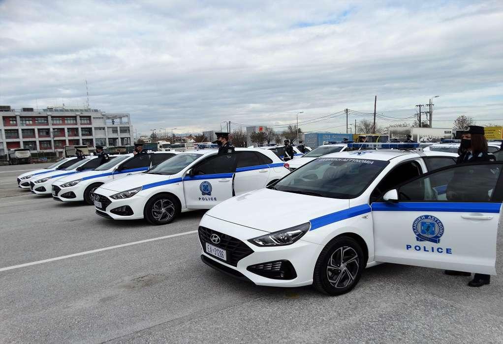 Ενισχύθηκε με 68 νέα αυτοκίνητα ο στόλος των αστυνομικών υπηρεσιών της Περ. Θεσσαλίας