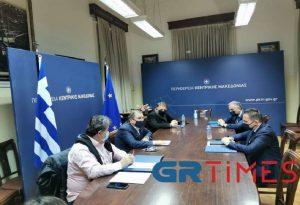 Συνάντηση Πέτσα – ΠΕΔ-ΚΜ: Στο επίκεντρο ο κοινωνικός και αναπτυξιακός ρόλος