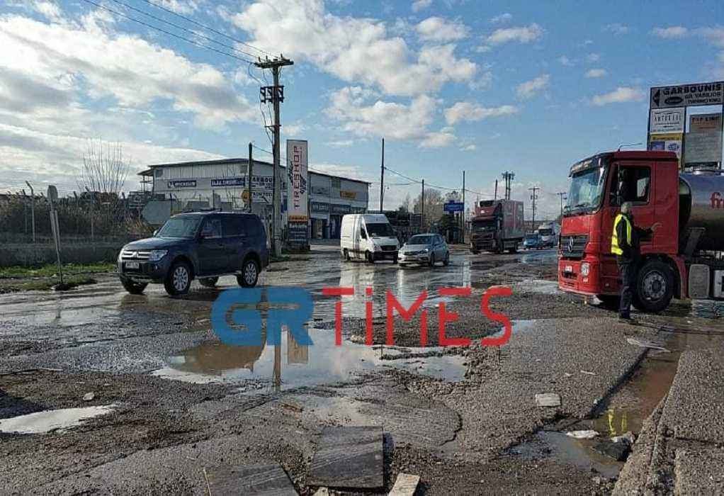Θεσσαλονίκη: Πλημμύρισαν δρόμοι στη Λαχαναγορά (ΦΩΤΟ+VIDEO), φωτογραφία-6