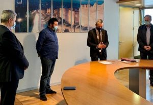 «Η Πόλη Ανάποδα»: Ορκίστηκε δημοτικός σύμβουλος ο Κ. Ξενόπουλος (ΦΩΤΟ)