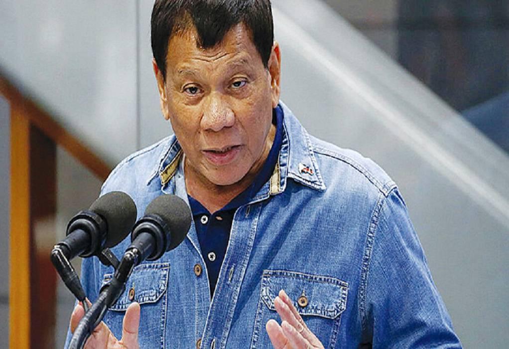 Πρόεδρος Φιλιππίνων: Η προεδρία δεν είναι δουλειά για μια γυναίκα