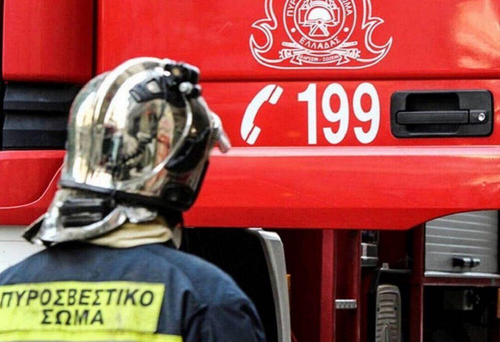 Θεσσαλονίκη: Φωτιά σε ΙΧ στον Περιφερειακό