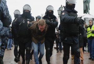 Ρωσία: Διαδηλώσεις υπέρ του φυλακισμένου Ναβάλνι