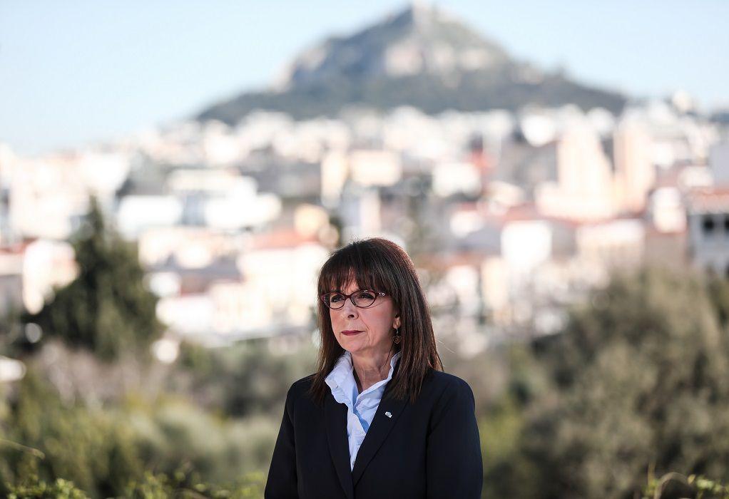 Ο χαιρετισμός της ΠτΔ στα Greek International Women Awards