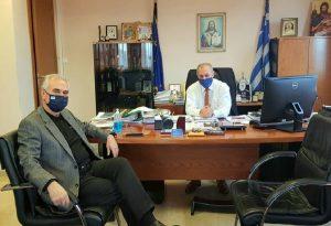 Επίσκεψη Σ. Αναστασιάδη στο Δήμαρχο Λαγκαδά